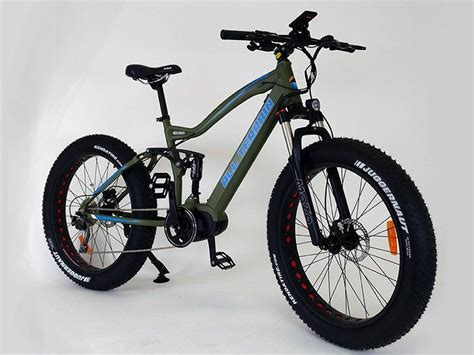Full Suspension Mid Drive Electric Fat