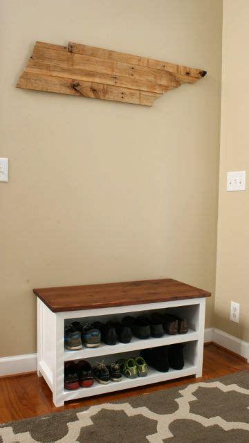diy adjustable shoe storage bench bench  shoe