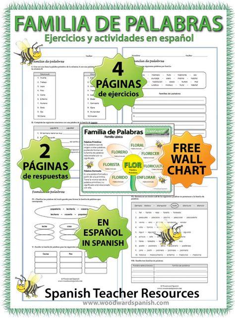22 Best First Grade  Familia De Palabras Images On