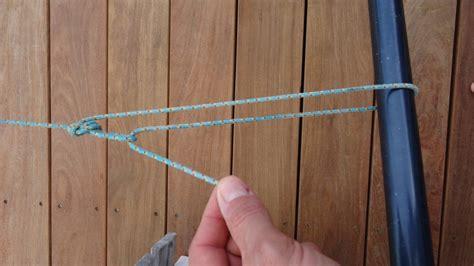 comment installer une corde a linge avec tendeur 28