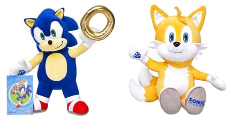 Sonic gets the Build-A-Bear treatment, Tails plush and ...