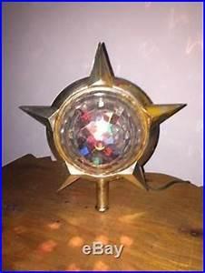 Disco Ball Rotating Light Vintage Working Bradford Celestial Star Motion Light