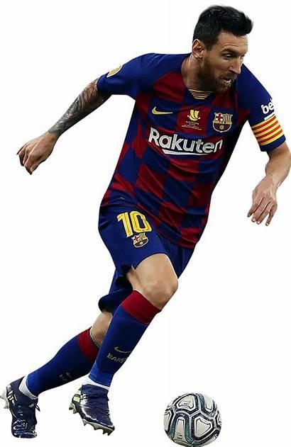 Messi Lionel Render Football Footyrenders Barcelona