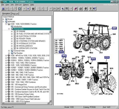 Original Spare Parts Catalog John Deere Agriculture Epc