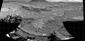 NASA Mars Orbiter Spies Rover Near Martian Butte   NASA