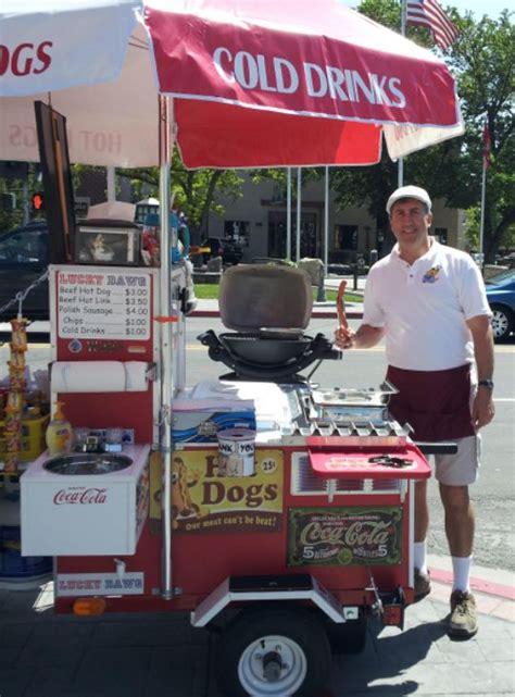 hot dog cart ideas  pinterest hot dog stand