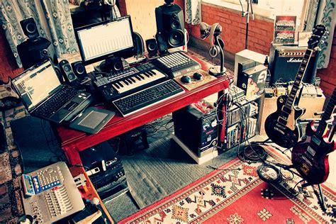 Home Recording Studio : Simple Home Recording Studio Setup [ktm]