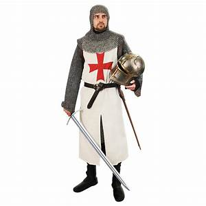 Templar Quartered Tunic - 101594 - Medieval Clothing for ...