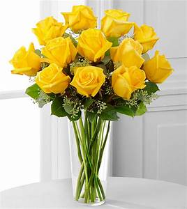 Yellow Rose Bouquet - Flower Co.