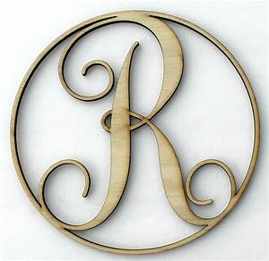 we love these wooden monograms they39re the perfect diy With wooden initial letters for door
