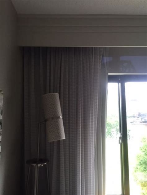 eclipse curtains  sheers hung  ceiling mounted