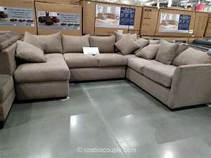 klaussner 3 piece fabric sectional With 3 piece sectional sofa costco