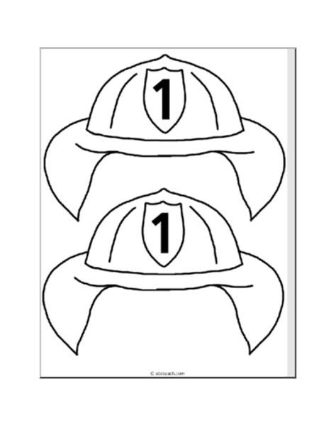 fireman hat template paperbag puppet hat