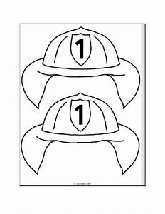 fire safety kindergarten nana With firefighter hat template preschool