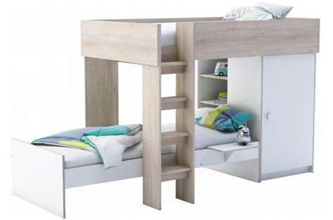 lit superposé avec bureau intégré lits superpos 233 s 3 28 images lits superpos 233 s