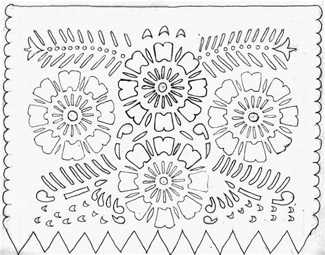 Papel Picado Template For by Introducing New Worlds With A Shrug Make This Papel Picado