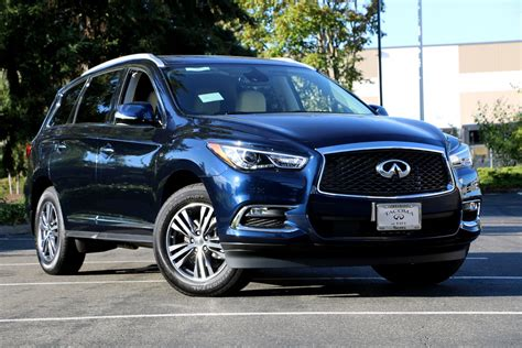 2019 New Infiniti by New 2019 Infiniti Qx60 Luxe Awd Crossover In Fife 19046
