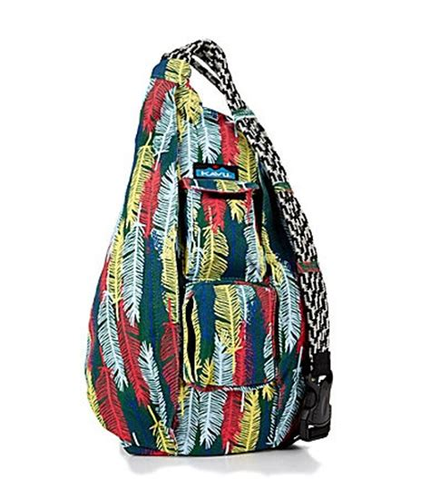kavu messenger bag kavu mini rope bag cotton crossbody sling backpack oasis