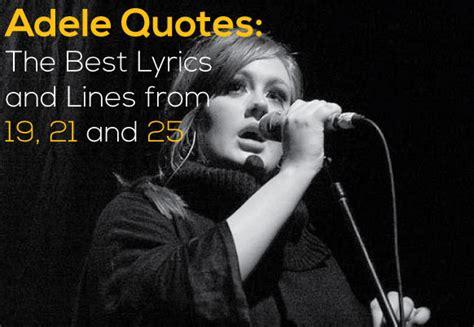 adele quotes   lyrics  lines