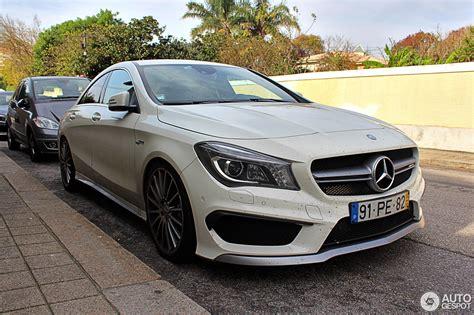 Mercedesbenz Cla 45 Amg C117  1 November 2016 Autogespot