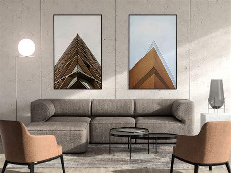 living room   poster frames mockup mockup world