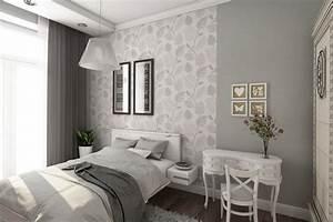 Tapeten Im Schlafzimmer : tapeten kombinieren schlafzimmer ~ Michelbontemps.com Haus und Dekorationen