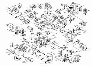 Dixon Ztr 4516k  2003  Parts Diagram For Chassis