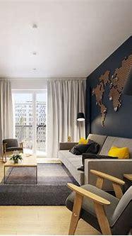 Modern Scandinavian Apartment Interior Design With Gray ...