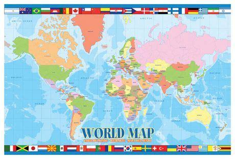 carte du monde enfant carte du monde pour les enfants walmart canada