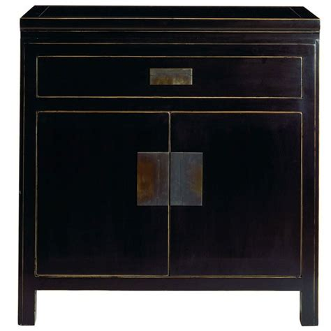 oriental small sideboard distressed lacquer
