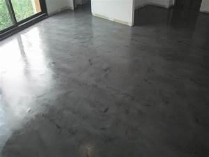 la mode du beton cire pour votre construction ecologique With beton cire sol exterieur