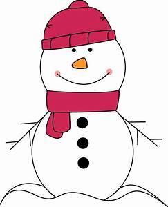 Snowman Scarf Clipart - Clipart Suggest