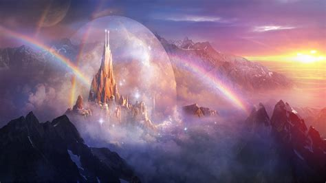 divine kingdom full hd wallpaper  background image