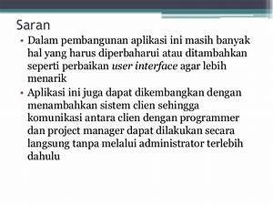 Aplikasi Project Management Berbasis Web