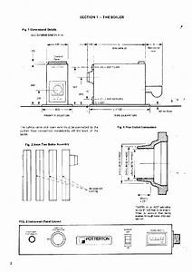 Potterton Avon Two Boiler Maintenance Instructions Manual