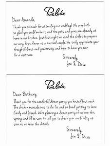 classic courtesy the art of the thank you note rue now With wedding shower thank you note template
