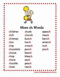 """ch"" Words worksheet for Kindergarten Students"