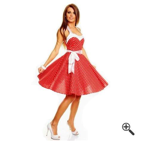 rockabilly kleid mit ärmeln rockabilly kleid in rot 3 50er f 252 r lusi