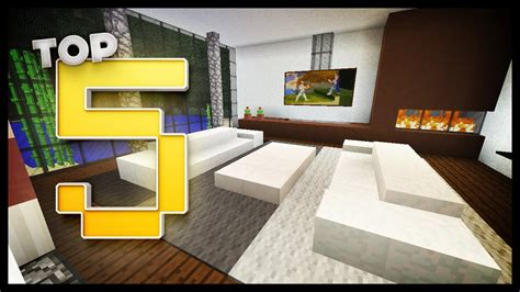 minecraft living room designs ideas youtube