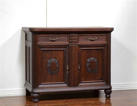Sideboard Servers by 55249 Oak German Antique Server Sideboard Cabinet