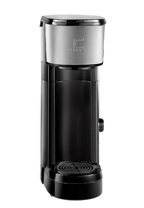 Not just selling they coffee they got into coffee brewing machines. Chefman Instabrew Single Serve Maker Brewer for K-Cup Pods Coffee-Grounds & Loose-Leaf Tea w ...