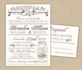 free sle wedding invitations free wedding invitation templates e commercewordpress