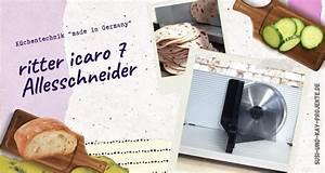 Ritter Icaro 7 : ritter icaro 7 der allesschneider im test susi und kay projekte ~ Watch28wear.com Haus und Dekorationen