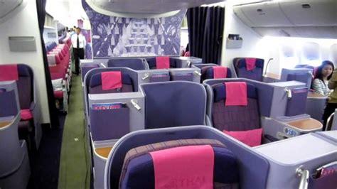 boeing 777 200 sieges cabin tour airways international 39 s boeing 777