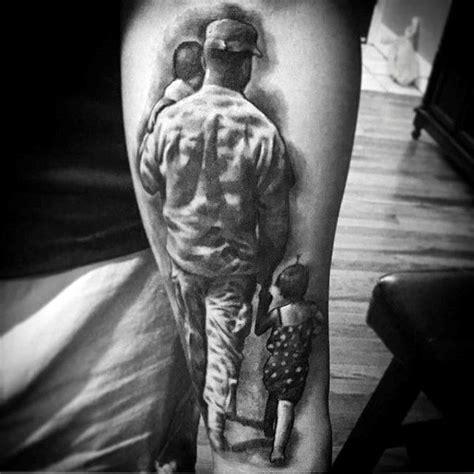 family tattoos  men commemorative ink design
