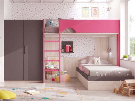 amenager chambre pour 2 filles lit superposé fille pour chambre personnalisable