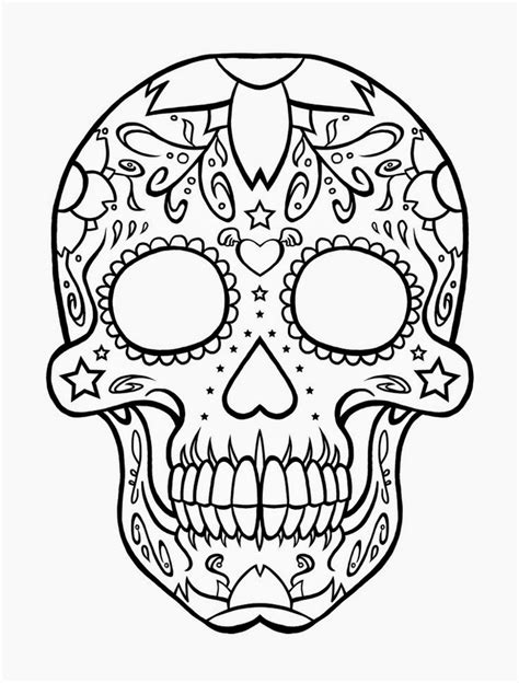 skull coloring pages coloring pages skull free printable coloring pages