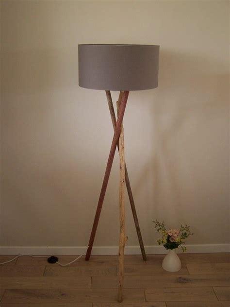 lampadaire bois  bois flotte salons lights  decoration