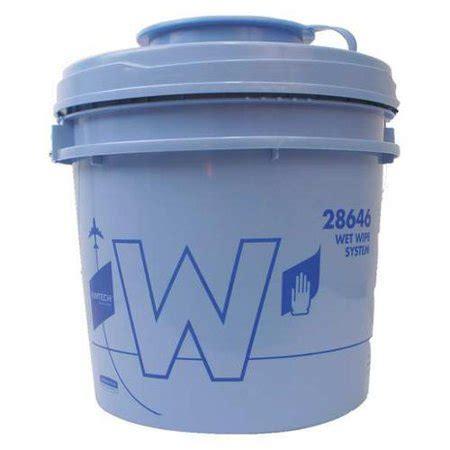 Kimtech 28646 Wet Wipe Bucket, Bucket, Blue Walmartcom
