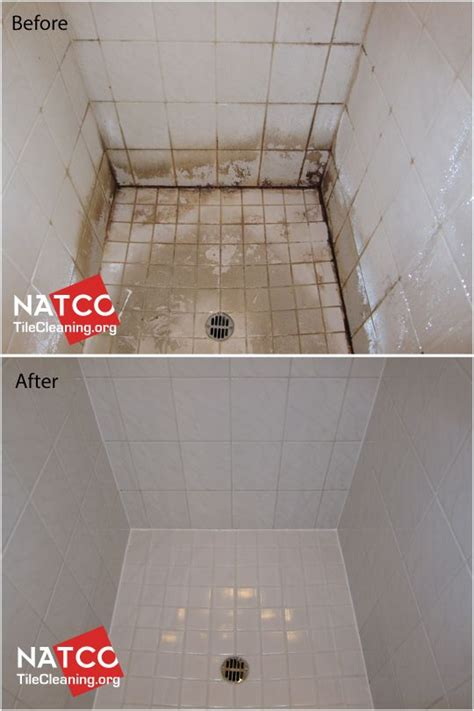 looking shower looks new again after cleaning and